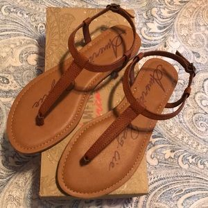 f44936ca9db0 American Rag Shoes - American Rag Krista T-Strap Flat Sandal